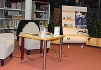 Udeleženci projekta ViA iz ZPKZ MB na Noči knjige v Murski Soboti