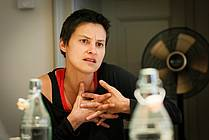 Simona Semenič, playwright, dramaturg, director and performer