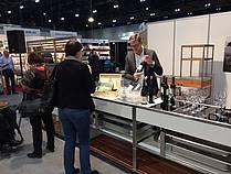 Degustacija vin Gaube na kulinaričnem odru