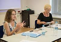 Delavnica s pisateljico Janjo Vidmar in mentorico Nado Grošelj