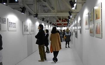 Razstava ilustracij na knjižnem sejmu v Bologni 2013