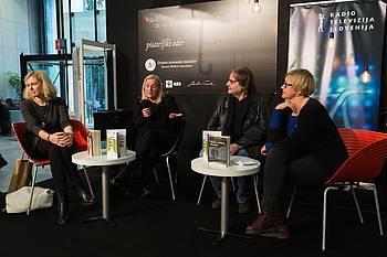 RSK na Pisateljskem odru, foto: Domen Pal