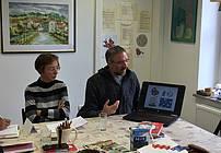 ViA obisk Arjana Pregl v Društvu Vezi