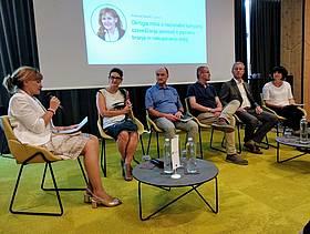 Okrogla  miza  o  možni slovenski nacionalni  kampanji ozaveščanja  javnosti  o  pomenu  branja  in nakupovanja knjig