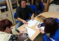 Ilustratorska delavnica v CUDV Črna na Koroškem