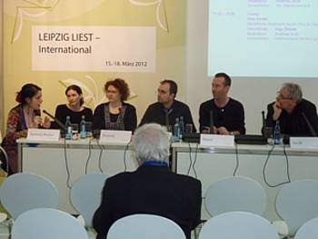 Stanka Hrastelj, Tanja Petrič, Ann Catrin Apstein-Müller v programu SO Übersetzen