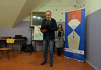 Tomaž Gubenšek in Cvetka Bevc na Zaključni prireditvi ViA 2018