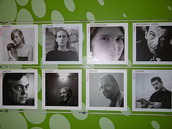 Fotografije slovenskih avtorjev na frankfurtskem knjižnem sejmu 2014