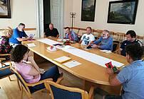 Skupina ViA v SVZ Hrastovec z mentorjem Orlandom Uršičem