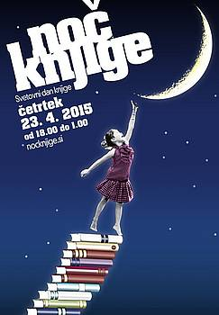 Plakat Noč knjige 2015