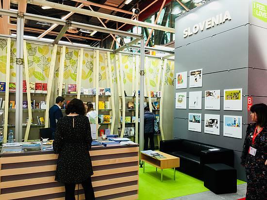 Slovenian National Stand at Bologna Book Fair