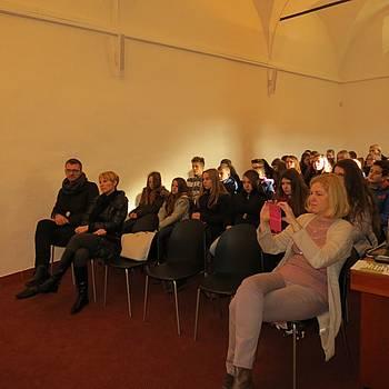Mladi bralci iz Varaždinske županije v Ptujski knjižnici, 1. 12. 2015