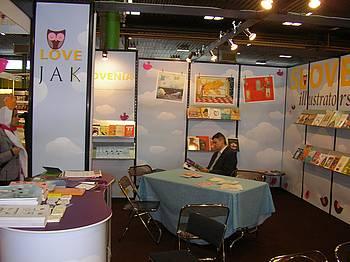 Slovenska stojnica na knjižnem sejmu v Bologni 2010
