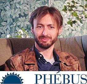 Nils Ahl, glavni urednik založbe Phebus