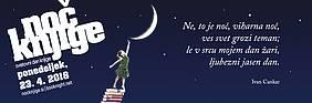 Logo Noč knjige 2018