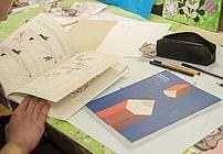 Delavnica ilustriranja v Prevzgojnem domu Radeče