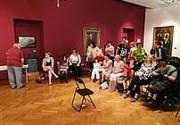 Gledališka improvizacija s Tonetom Partljičem, foto: Mojca Bergant Dražetić