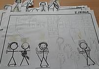 Ilustracija Turjaške Rozamunde