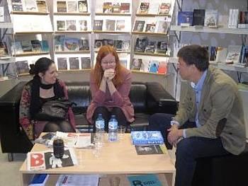 Slovenski avtorji na knjižnem sejmu v Leipzigu 2014
