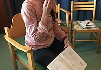 Gostja Maja Kastelic v SVZ Dutovlje