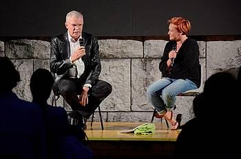 Slavko Pregl na Letnem kinu v Novi Gorici