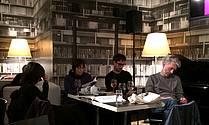 Slovenski avtorji na lit. večeru v Cafe Korb