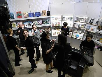 Slovenska stojnica JAK na knjižnem sejmu v Leipzigu 2015
