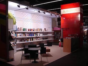 Slovenska stojnica na knjižnem sejmu v Frankfurtu 2010