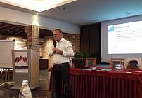 Martin Lisec na seminarju za mentorje ViA 2018
