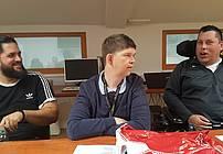 Boštjan Gorenc Pižama na obisku v CUDV Radovljica