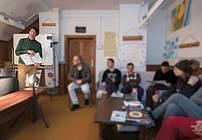 Usposabljanje ViA v TS Sostro (Zavod Pelikan-Karitas) z gostom Juretom Engelsbergerjem