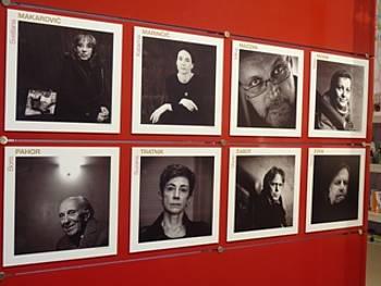 Fotografije slovenskih avtorjev na nacionalni stojnici v Frankfurtu 2011