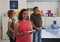 Predstavitev pesniške zbirke Brigite Krek (foto: Nik Rovan)