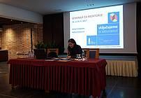 Ana Duša na seminarju za mentorje ViA 2018