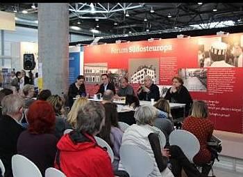 Prispevek Aleša Debeljaka na knjižnem sejmu v Leipzigu 2014