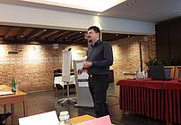 Mitja Iskrić na seminarju za mentorje ViA 2018