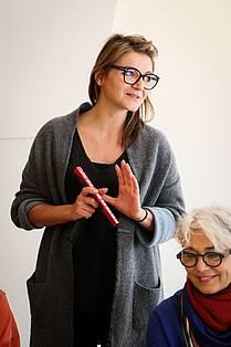Ksenija Repina, v. d. umetniške direktorice Borštnikovega srečanja