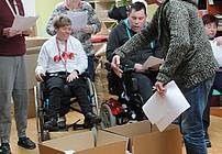 Režiser Darko Čuden na obisku delavnice ViA v CUDV Radovljica