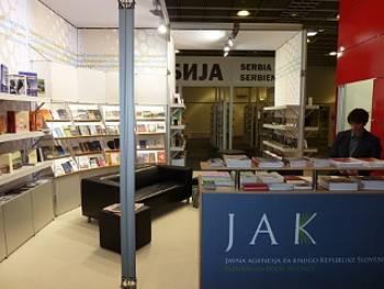 Slovenska stojnica na knjižnem sejmu v Frankfurtu 2012