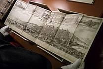 Ogled rokopisnega oddelka v NUK-u