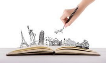 Knjiga in svet - risba
