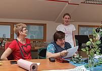 Usposabljanje ViA z gostjo Tinko Bačič v CUDV Radovljica
