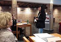 Cvetka Bevc na seminarju za mentorje ViA 2018