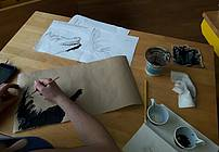 Ilustratorska delavnica ViA z mentorico Hano Stupica