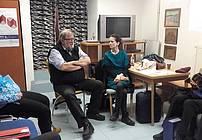 Obisk Ervina Hladnika Milharčiča v skupini ViA