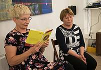 Literarni večer z Janjo Vidmar
