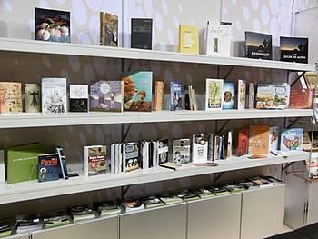 Predstavitev slovenskih založb na frankfurtskem knjižnem sejmu 2014