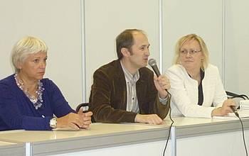 Predstavitev Foruma slovenskih kultur in JAK na knjižnem sejmu v Moskvi 2014