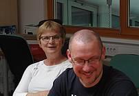 Cvetka Sokolov in Adriano Janežič, mentorja ViA v CUDV Radovljica
