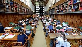 Knjižnično nadomestilo (Foto: Velika čitalnica NUK, Milan Štupar)